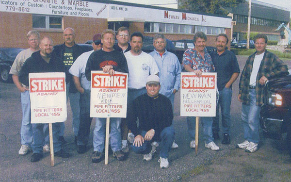 2002 Strike Pipefitters